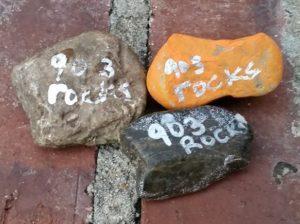 Tagged Rocks