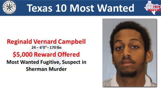 Sherman Murder Suspect