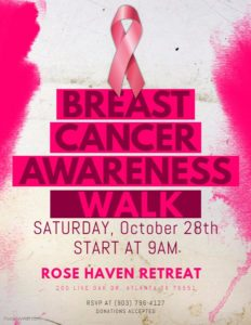 Rose Haven Breast Cancer Awareness