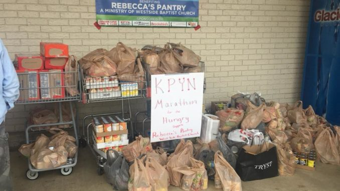 kpyn marathon for the hungry