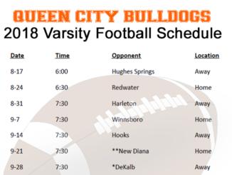 Bulldogs Varsity Football 2018