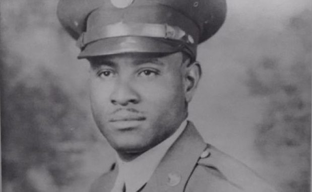 WWII Vet Richard Oveerton died