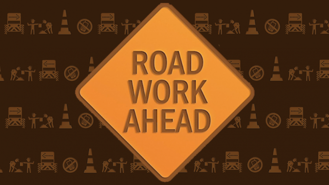 Weekly Roadwork