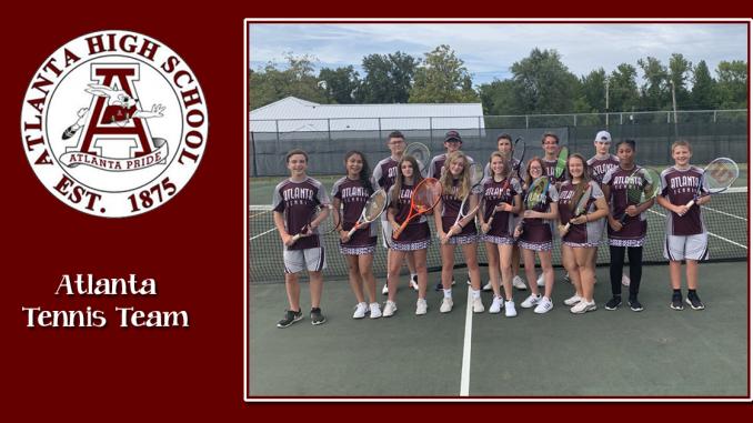 Atlanta High School Tennis Team