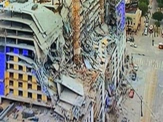 building collapse in downtown New Orleans